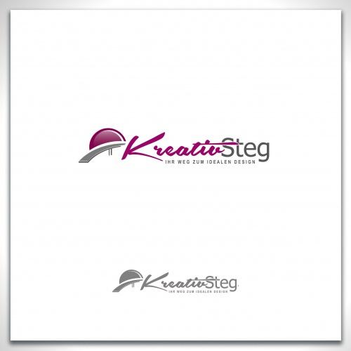 Logo-Design für die Werbeagentur KREATIVSTEG