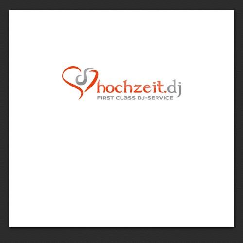 Logo für Hochzeits DJ-Agentur