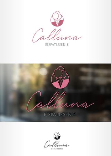 Logo-Design für Calluna Eispatisserie