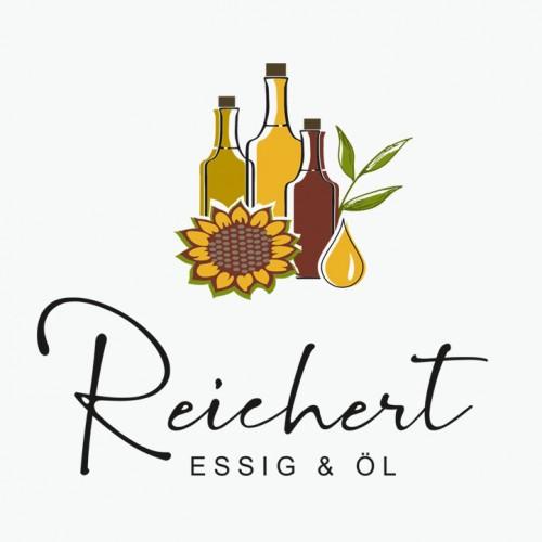 Logo-Design für in Handarbeit produzierte Essige und Öle