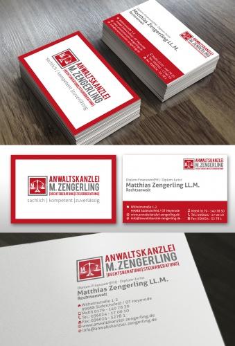neu gegründete Anwaltskanzlei sucht Logo für Briefkopf, Briefpapier und Visitenkarten