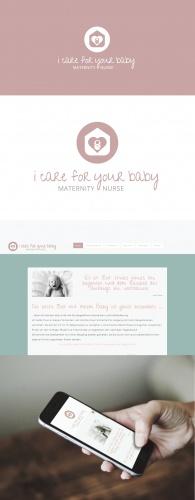 Maternity Nurse möchte Logo