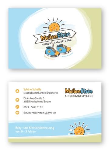 Logo & Visitenkarte für Kindertagespflege