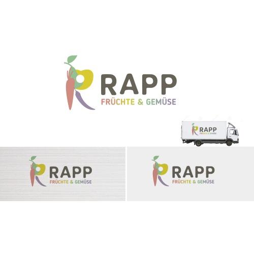 Logo-Design für Logo: Rapp Früchte und Gemüse