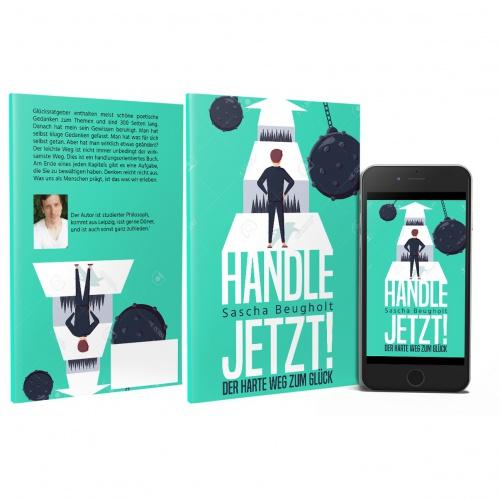 Buch-/E-Book-Cover für Glücks-Ratgeber