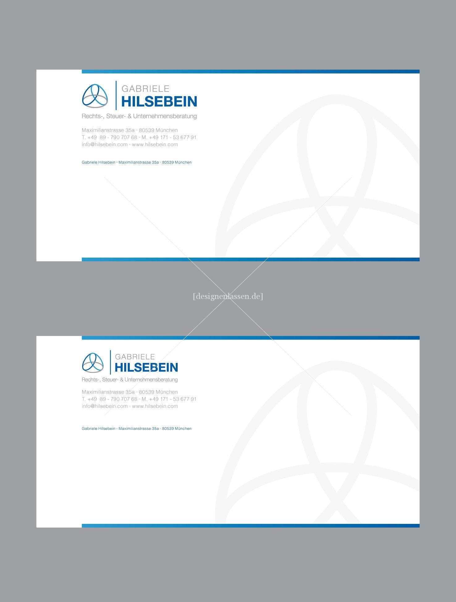 Freiberufler Mit Logo Visitenkarten Sucht Briefp