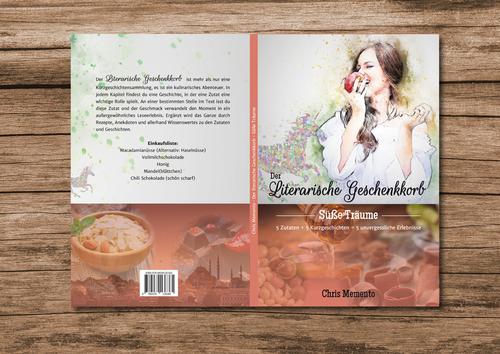 Cover-Design mit zwei Bereichen für kulinarische Kurzgeschichtensammlung gesucht