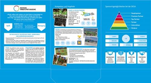 Sponsors portemonnee fr de Duitse Kinderen Sports Academy