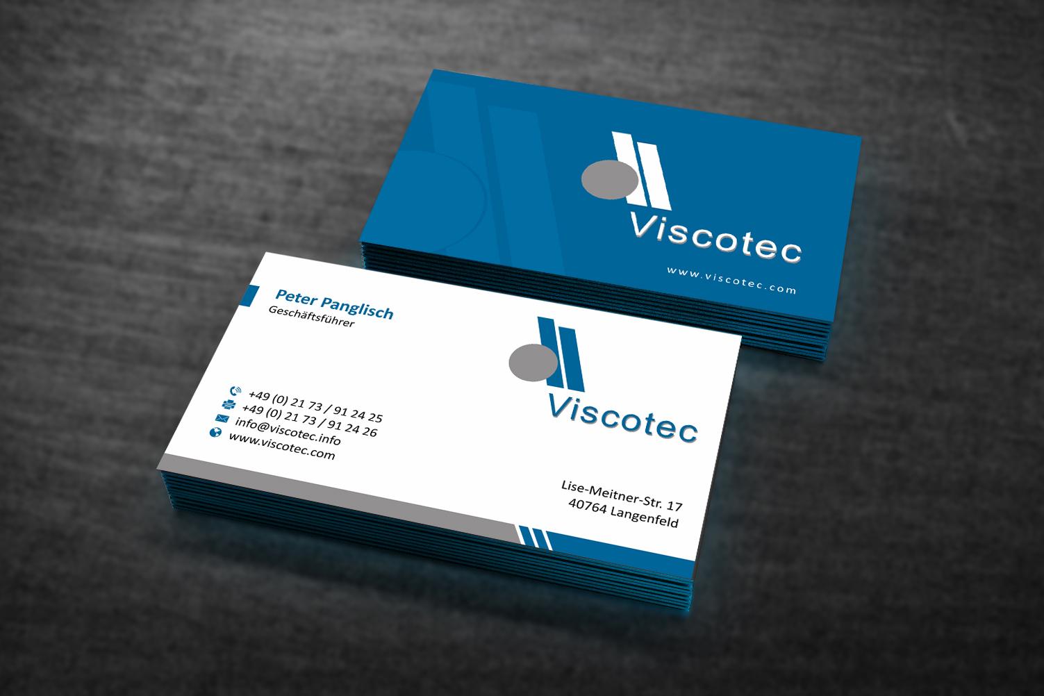 Visitenkarten Design Für Modernes Industrieunter