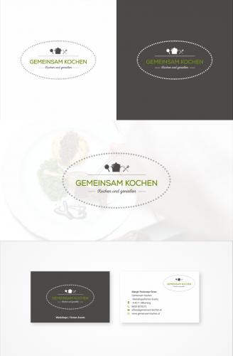 Logo & Visitenkarte für Kochveranstaltungen