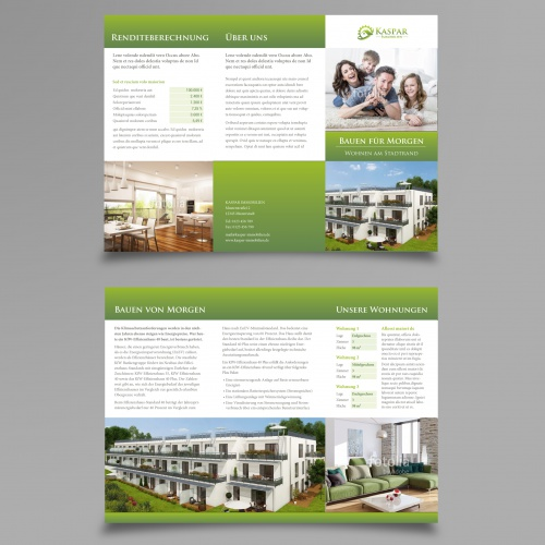 Bauträger sucht Flyer-Design