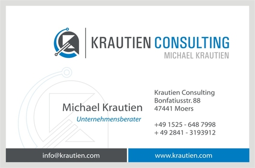 Logo & Visitenkarte für Consulting des IT-Service Managements