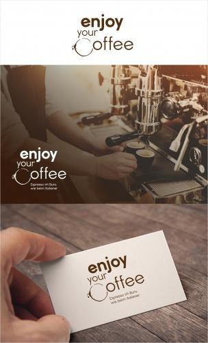 Logo & Visitenkarte für Kaffeeversorgung im Büro