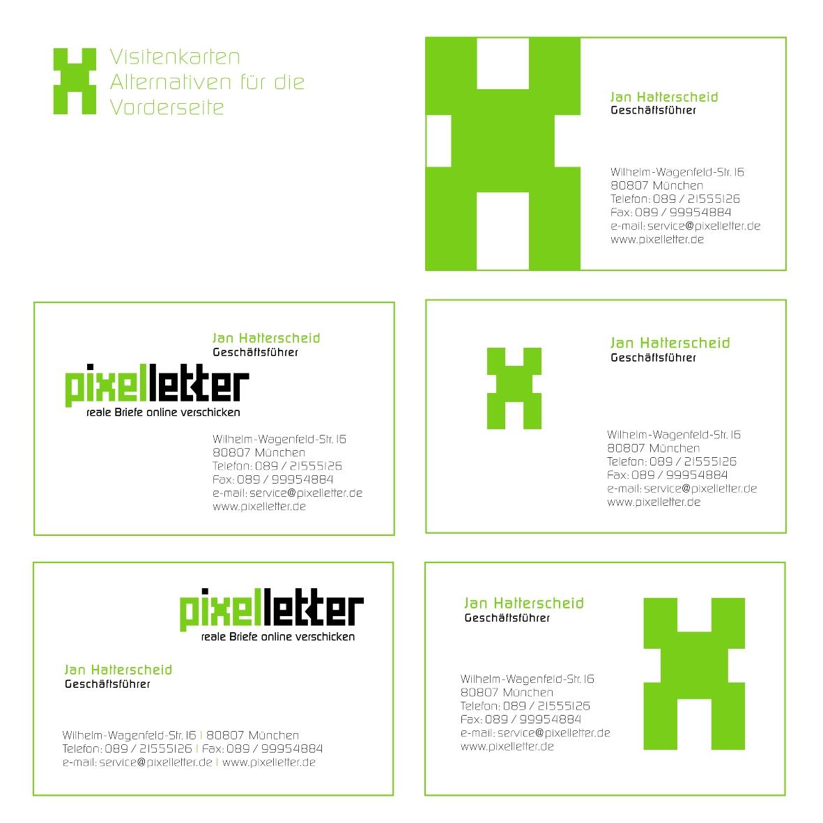 Visitenkarte Und Briefpapier Business Card Design