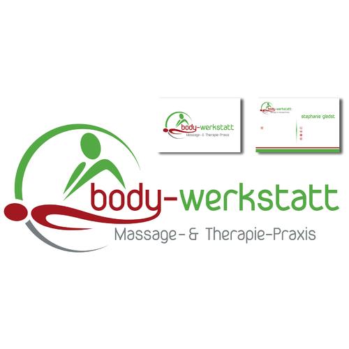 Logo & Visitenkarte für Massage- und Therapie-Praxis
