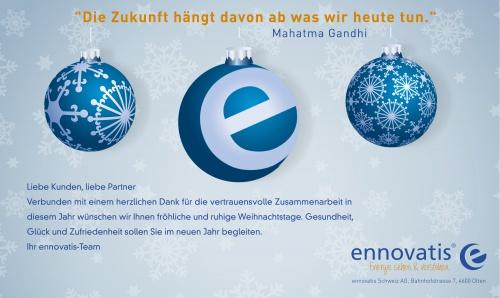 Digitale Weihnachtskarten.Digitale Weihnachtskarte Fur Energiemanagement F Design