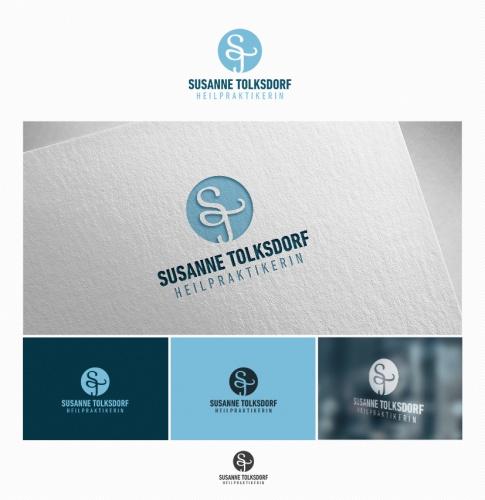 Logo-Design für Logo Naturheilpraxis mit Visitenkarte