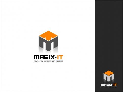 IT-dienstverlener streeft Logo