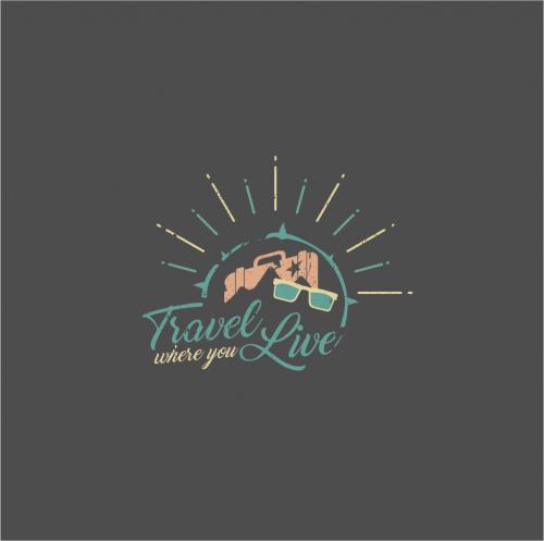 Logo-Design für einen Reiseblog