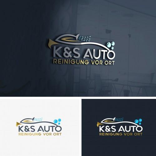 Logo-Design für Auto-Reinigung vor Ort