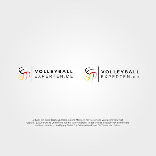Logo-Design für Coaching und Mentorin für Trainer und Vereine im Volleyball