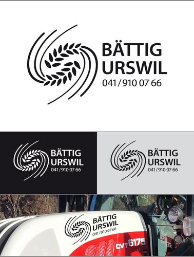 Logo-Design für landwirtschaftlichen Dienstleistungsbetrieb