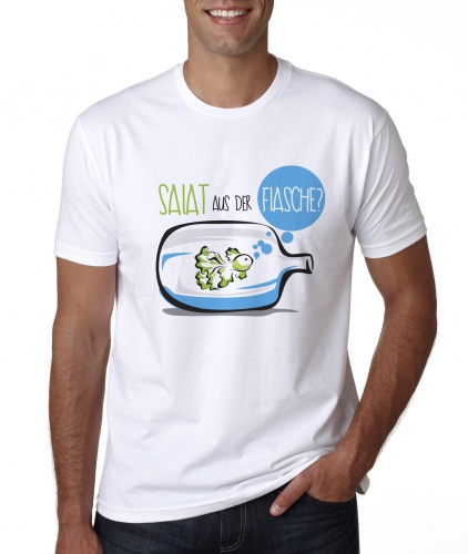 BottleKopp the T-Shirt for BottleCrop - the lettuce on a bottle (Crowdfunding-Project)