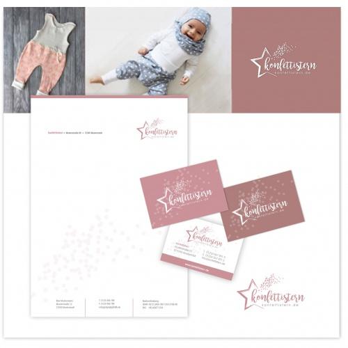 Logo-Design für einen Onlineshop für Babykleidung