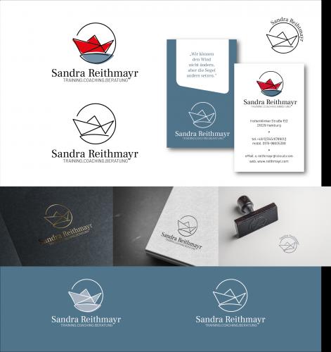 Logo & Visitenkarte - Coaching und Stresspräventionsseminare für Führungskräfte (Bereich Kita und mehr)