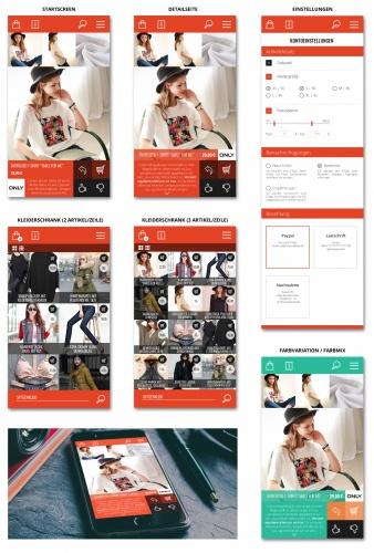 Design für eine Shopping-App mit spielerischen Elementen gesucht