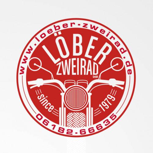 Logo-Design für Handwerksbetrieb für die Reparatur von Motorrädern und Rollern