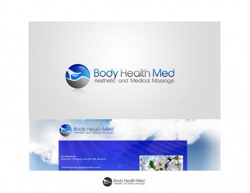Logo Redesign fr asthetic en Medizinische Massagepraxis