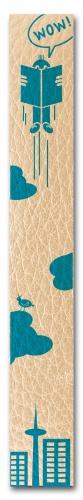 Produktdesign für Lesezeichen aus Leder