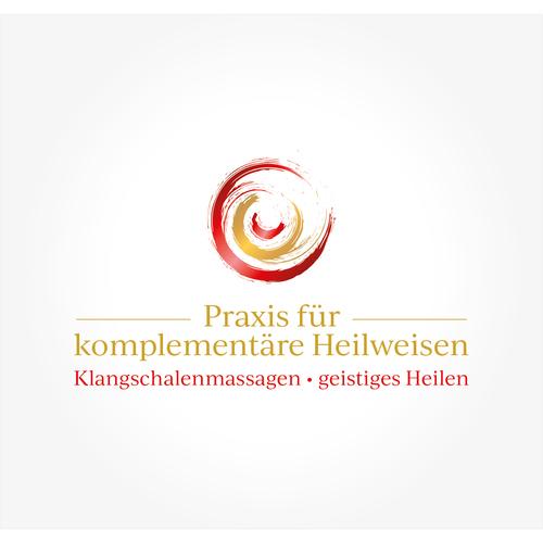 Logo & Visitenkarte für Klangschalenmassagen & geistiges Heilen