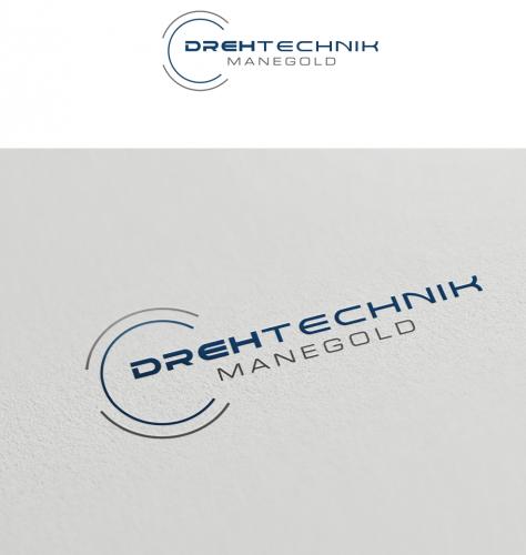 Logo-Design für Drehtechnik