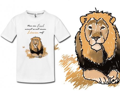 T-Shirt für Werbung und Verkauf