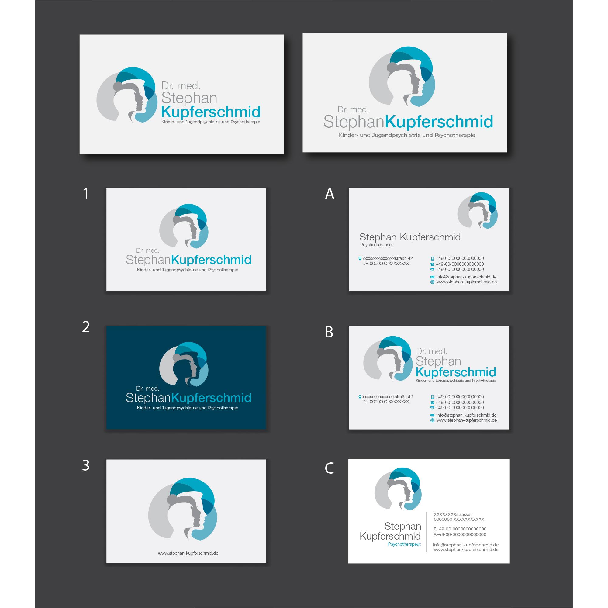 Logo Visitenkarte Für Arzt Und Psychothera Logo