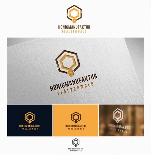 Logo-Design für Honigmanufaktur