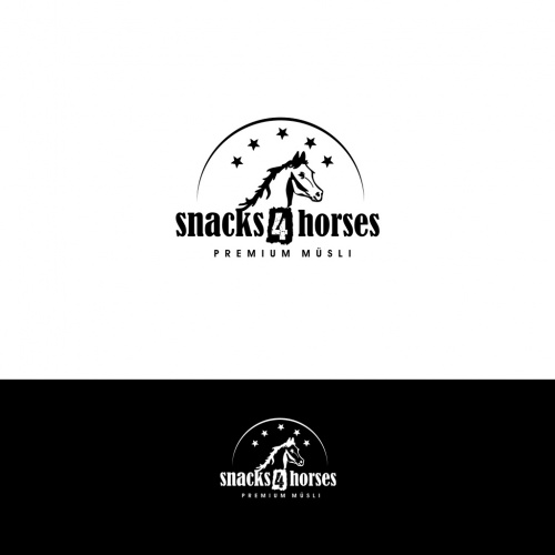 Logo ontwerp voor paard muesli