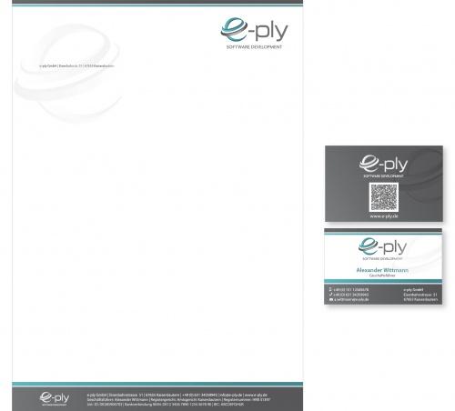 IT-Dienstleister sucht modernes Visitenkarten und Briefpapier Design