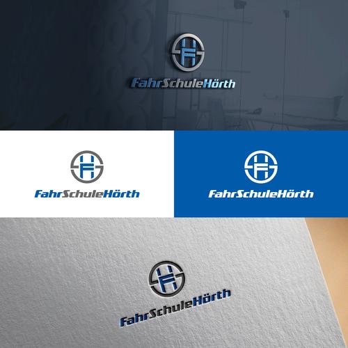 Logo-Design für Fahrschule