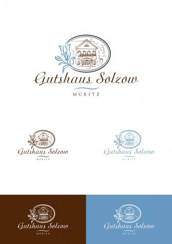 Die Blaue Blume_Logo für romantisches Hotel im alten Gutshaus in MV gesucht