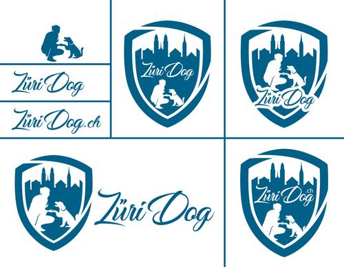 Logo-Design für Hundebetreuung