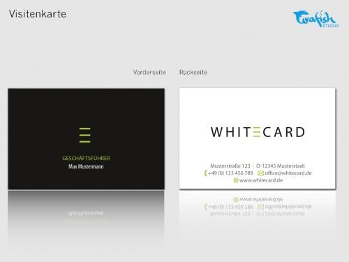 Geschäftsausstattung WhiteCard AG