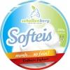 Verpakkingsetiket voor een softijs-beker