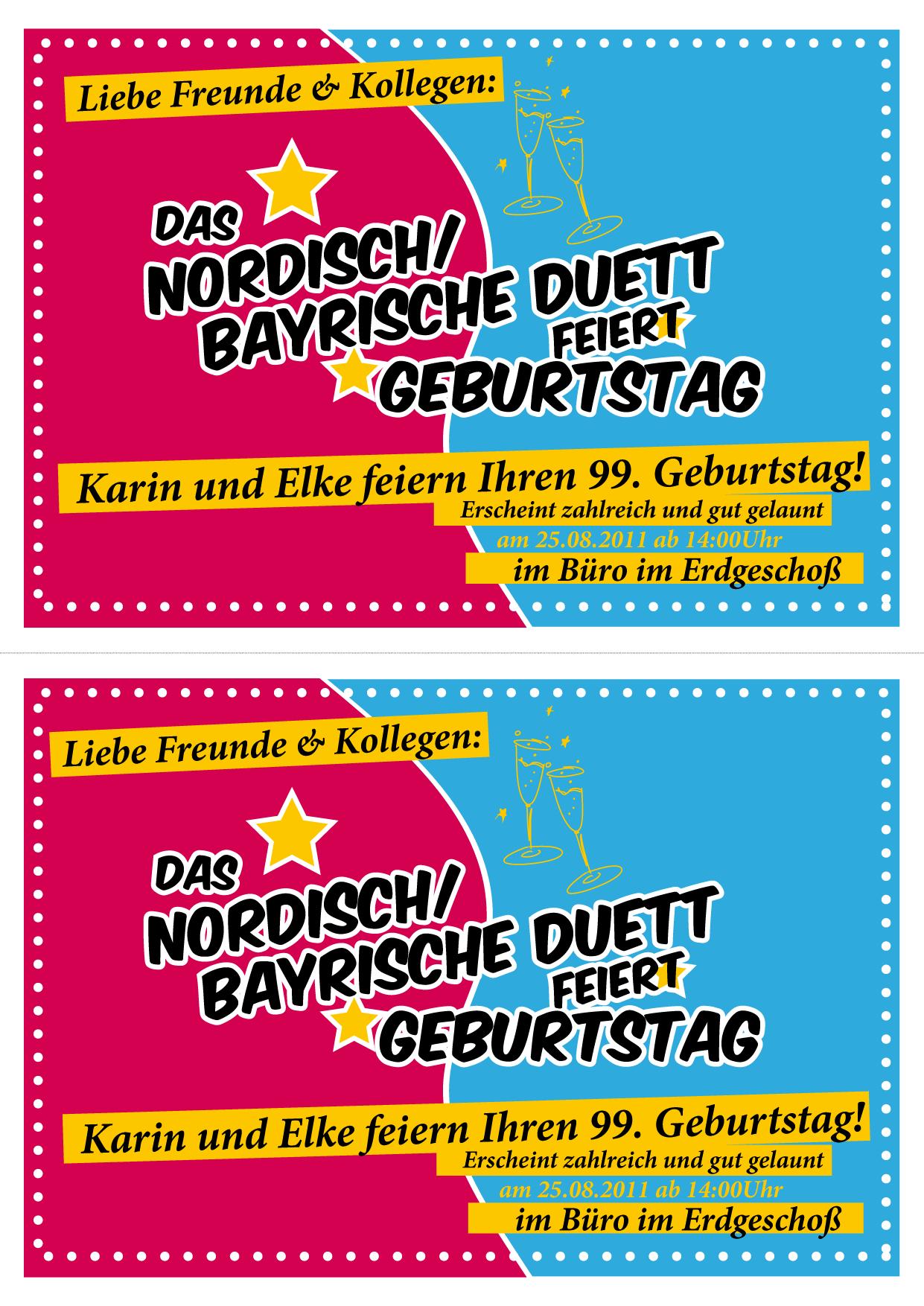 Einladung Zum Geburtstag » Sonstiges » Designen Lassen.ch, Einladungs