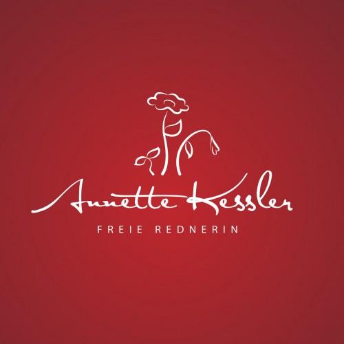 Schlichtes Logo-Design für freie Rednerin