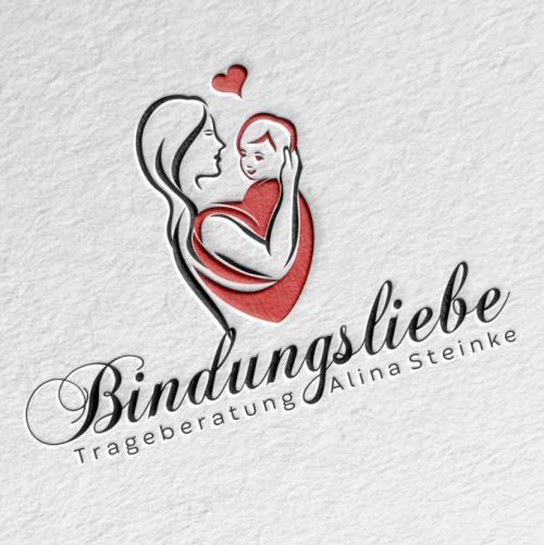 Logo-Design für Trageberatung (Beratung junge Familien mit Baby)