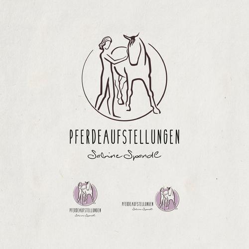 Logo-Design für Familienaufstellungen für Pferde und Meditationen