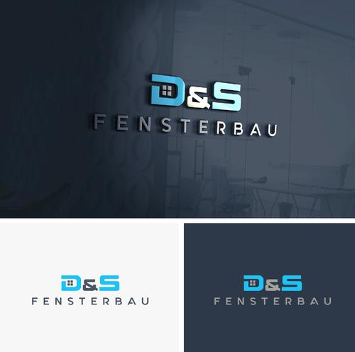 Logo-Design für Vertrieb und Montage von Fenstern, Türen
